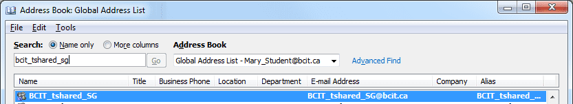 Web page snippets for training in Outlook