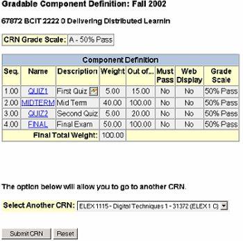 Gradebook instructions - sample delivering distributed learning.