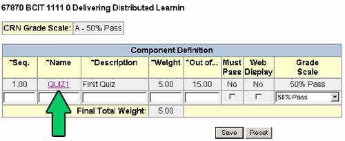 Gradebook instructions - delivering distributed learning.