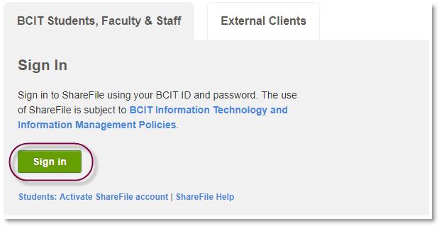 screenshot external clients sharepoint