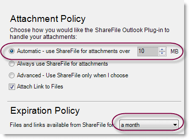 screen shot attachment policy - sharefile