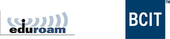 Eduroam and BCIT logo
