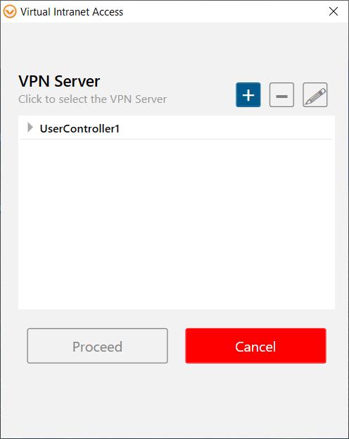 VPN server window showing usercontroller1 in the list